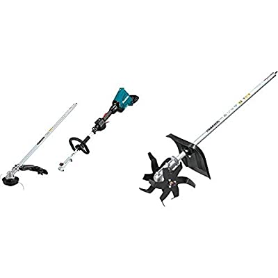 Makita XUX01ZM5 18V X2 (36V) LXT Lithium-Ion Brushless Cordless Couple Shaft Power Head with String Trimmer Attachment, Tool Only