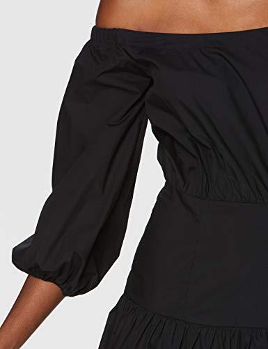 Guess Ottavia Dress Vestido, Negro, XS para Mujer