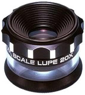 ピーク スケール・ルーペ20× 20倍 拡大鏡 2055