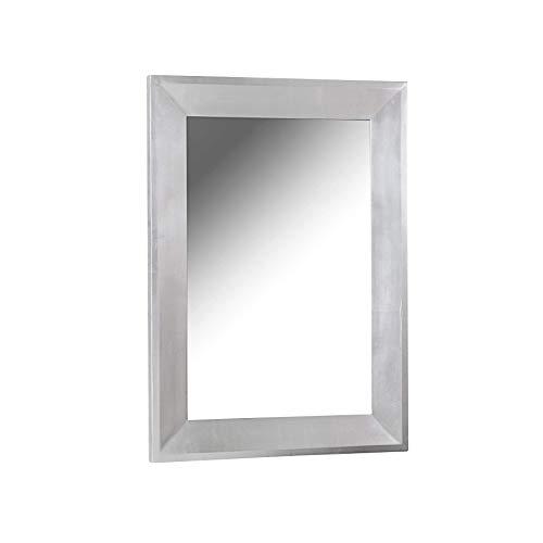 Invicta Interior Design Spiegel BRILLADO Silber 110x90cm Dekorativer Wandspiegel Badspiegel