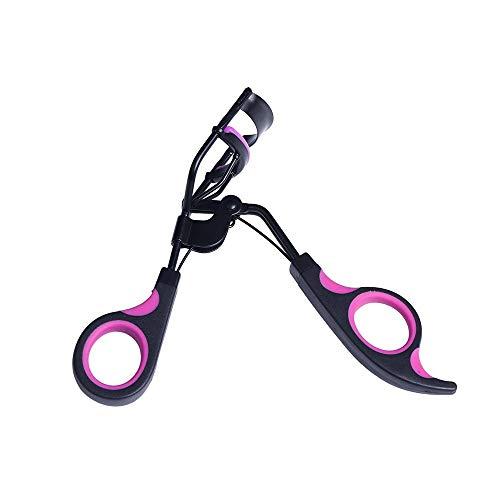 TREW 1pc poignée Curl Cils cosmétiques Maquillage cil curleur Curling Outils pincette. (Color : BLACK)