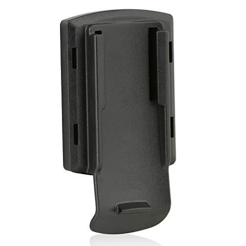 Wicked Chili Adapterplatte kompatibel mit Garmin Approach, Astro, DakotaTM, eTrex, GPSMAP und Oregon für QuickMOUNT KFZ-, Fahrrad- und Lüftungshalterung (HR 2245 Halteschale Made in Germany) schwarz