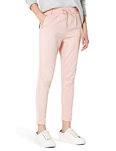 ONLY Damen Onlpoptrash Easy Colour Pant Pnt Noos Hose, Rosa (Rose Smoke), M/L34