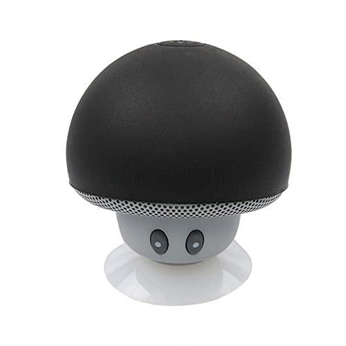 Mini caixa de som caixinha cogumelo com bluetooth h'maston yx-01h