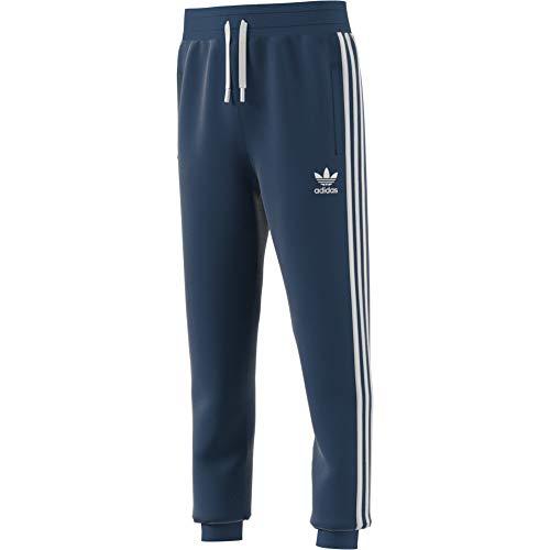 adidas 3-Stripes J, Pantaloni Sportivi Unisex Bambino, Blu (Night Marine/White), 11-12Y