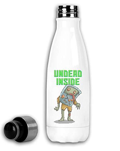 Generic Undead Inside Retro Console Pixel Art Thermische Reiseflasche 350ml