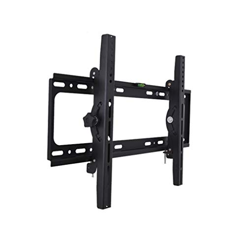 RENJUN- TV Wandhalterung Bildschirmgröße 40-55in Eingebaute Wasserwaage Aus Stahlblech Tragfähigkeit Bis 40 Kg Doppelarmhakendesign