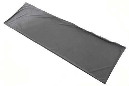 【日本製】オリジナル 抱き枕カバー グレー 横ファスナー 160×50cm