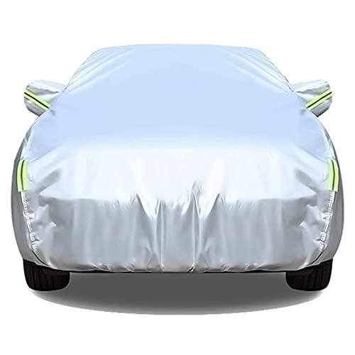 SjYsXm Wasserdicht Autoabdeckung Kompatibel mit Nissan X-Trail T32 2014-2020, Atmungsaktive Vollgarage Auto Abdeckplane Staubdicht Autoplane für Außengebrauch Autohaube mit Reflexstreifen