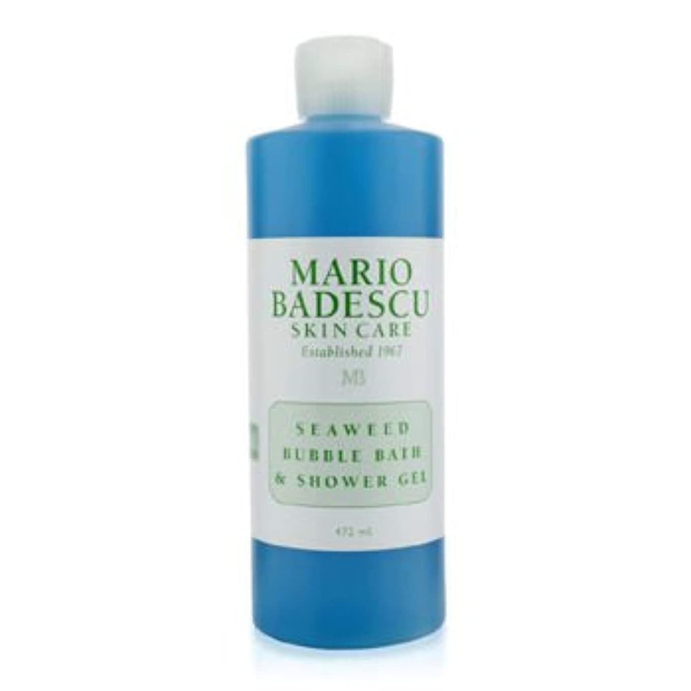 ジェム知覚的その[Mario Badescu] Seaweed Bubble Bath & Shower Gel 472ml/16oz