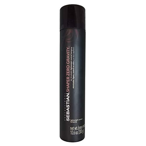 Sebastian Shaper Zero Gravity Lightweight Control Hairspray, 10.6 Oz (Pack of 3) by Sebastian [Beauty] (English Manual)
