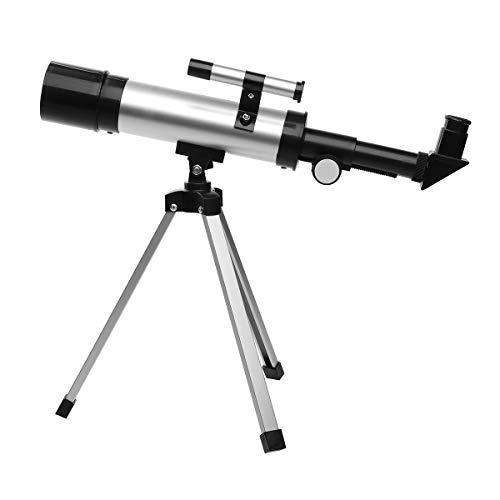 TANGIST Phase Stepper Moto HD 90x Zoom Monokular mit Stativ 360x50mm Brechung Raum Astronomisches Teleskop Reise Spektrum Geltungsbereich für den Außenbereich