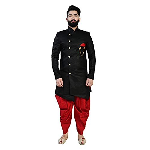 RUDRSHRI Men's Traditional Ethnic Wear Indo Western Dress Set
