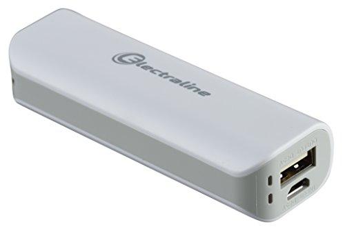 Energaline 500331, externe oplader powerbank met 1 USB 1 A, 2600 mAh