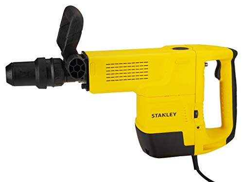 STANLEY STHM10K 1600W, 10Kg SDS-Max Demolition Hammer with Kitbox and Chisel
