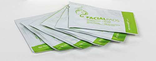 Epi Nouvelle+ Juego de 4 almohadillas faciales naturales | almohadillas profesionales hidrobiológicas para los ojos – 100 % veganas – Extra profundas.