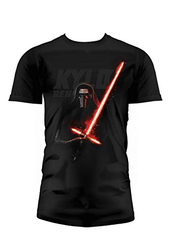 SD toys - T-Shirt - Star Wars Episode 7- Homme Kylo Ren Lightsaber Taille L - 8436546899105
