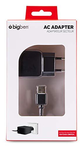 Bigben 252076 Oplader, Zwart (Nintendo Switch)