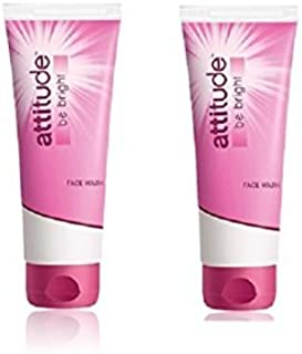 Amway Attitude Be Bright Face Wash (100 Ml Each) Pack Of 2