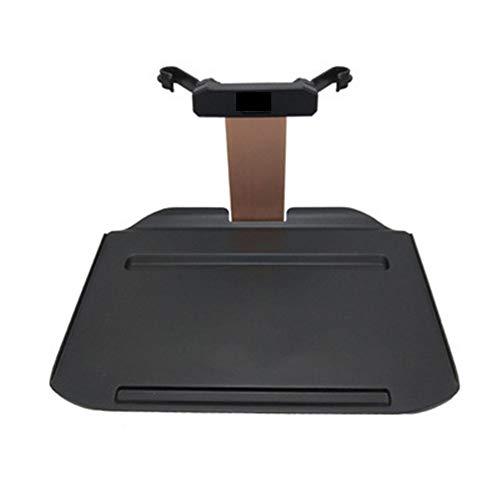 Laptophouder voor auto, laptop, opvouwbaar, eettafel, school, kantoor, achterbank (kleur: roze goud-A)