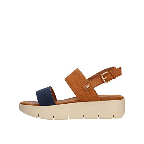 Wrangler - Sandale Leder / blau WL91642A CB