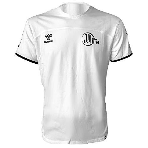 Hummel Herren THW Kiel Fan T-Shirt 2020 2021 weiß Gr M