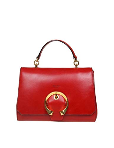 Jimmy Choo Luxury Fashion Donna MADELINETRMRED Rosso Borsa A Mano   Autunno Inverno 19
