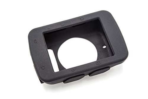 vhbw Silikon schwarz Hülle Case für Fahrradcomputer Fahrradnavigation Garmin Edge 520