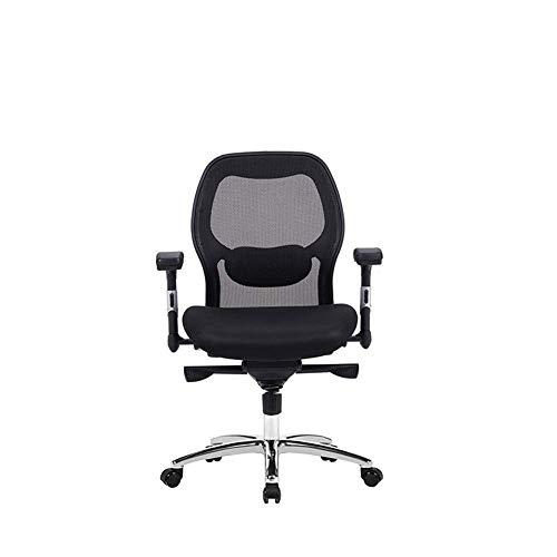 Ergonomische stoel mesh stoel, Lift Swivel Chair Elektrische Lang-Sleeved bureaustoel, hoge Terug naar Lie plat op Lunch Break, Multifunctionele baas stoel Ergonomische stoel