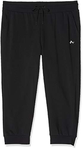 ONLY Damen Onpelina 3/4 Sweat Pants - Opus Sportshorts, Blau (Black Black), W(Herstellergröße:L)
