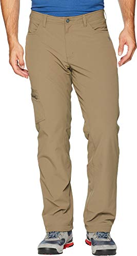 Mountain Hardwear Mens Yumalino Fleece-Lined Pant for Cold Weather Outdoor Activities - Darklands - 30W x 30L