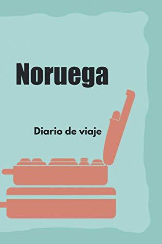 Noruega Diario de viaje: El regalo perfecto para los trotamundos para el travel Noruega | Listas de control | Libro de vacaciones, año en el ... de estudiantes, viaje por el mundo