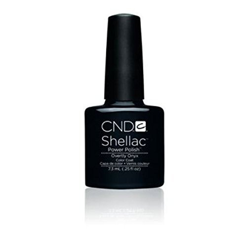 CND Shellac Power Polish Color Coat - Overtly Onyx by CND Nail Products