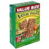 Nature Valley Crunchy Granola Bars, Oats 'n Honey, 24-Count Boxes (Pack of 2)