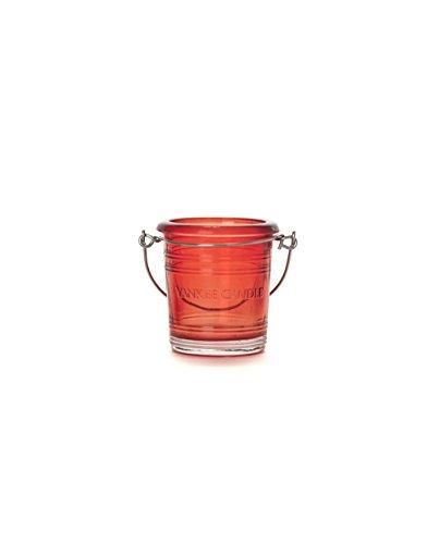 Yankee Candle Clear/Gekleurde Effen Glas Votive Houders SIX PACK voor Samplers/Theelichten Klein 7cm/2.8