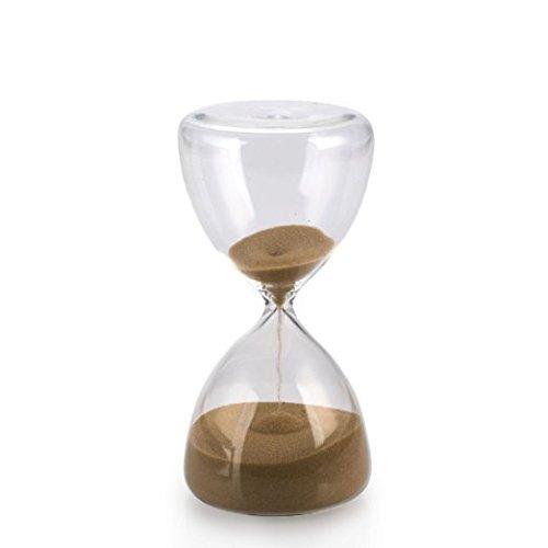 pajoma Sanduhr Velvet aus Glas, 15 Minuten