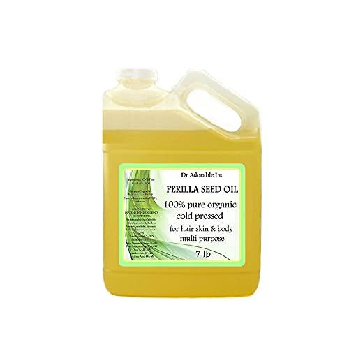 Perilla Seed Oil Oil Pure Cold Pressed Organic 128 Oz / 7 Lb/One Gallon