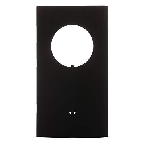 ZHANGYANENN Accessori mobili for Nokia Lumia 1020 Coperchio Posteriore della Batteria (Nero) (Colore : Black)