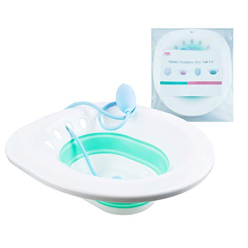 Sitz Bath Toilet Postpartum Care - Wash Basin Bath Tub Soaking for Pregnant Woman Acne Patients Perineal Soaking Bath for Acne Relief, Patients After Genital Incision