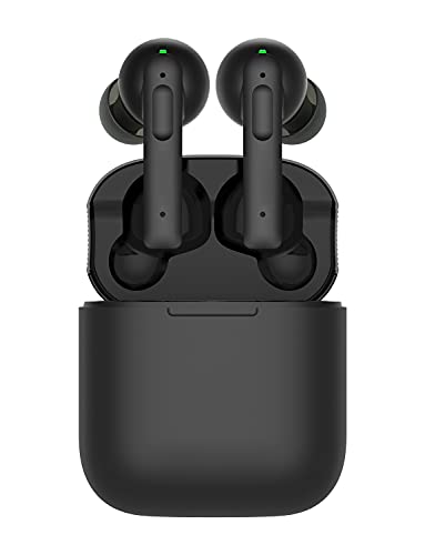 Wireless Earbuds Active Noise Cancelling, ANC Earphones w/4 Microphones Noise Cancelling, in Ear Bluetooth Headphones w/30Hrs, ANC Earbuds w/USB-C Charge, Deep Bass, Touch Control, IPX8 Waterproof