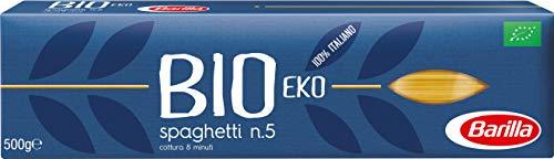Barilla Bio - Spaghetti n.5 à partir de blé dur issu de l'Agriculture Biologique - 500 g