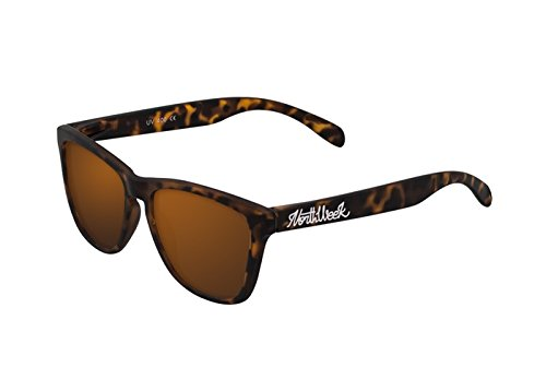 NORTHWEEK Regular Gafas de sol, Naranja, 52 Unisex