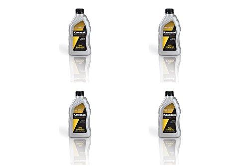 Kawasaki 4-Stroke Full Synthetic Motorcycle Oil 10W40 (Pack of 4) K61021-207A