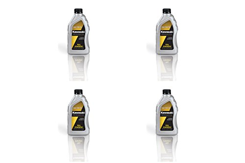 Kawasaki 4-Stroke Full Synthetic Motorcycle Oil 10W40 (Pack of 4) K61021-207A