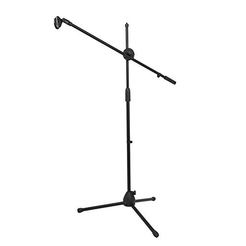 Metermall HL-13 Multi-function Microphone Holder Professional Performance Live Broadcast Mic Floor Stand with Clips