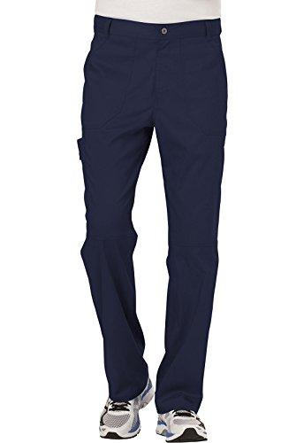 CHEROKEE Men's Fly Front Pant, Navy, Medium Short