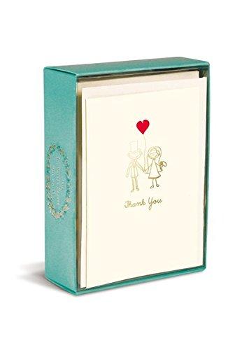 Boxed Notes: Happy Couple – Gruß- und Geschenkkartenbox mit Kuverts: Glückliches Pärchen: 10 Gruß- und Geschenkkarten mit passenden Umschlägen