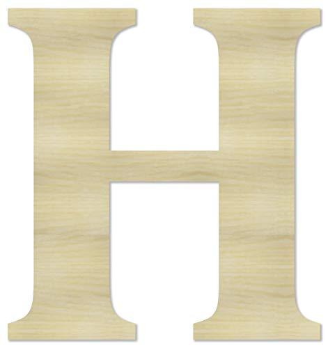 Wooden Letter H - 6