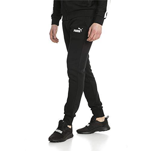 PUMA Pantalones de Forro Polar para Hombre, Negro algodón, XXX-Large Alto