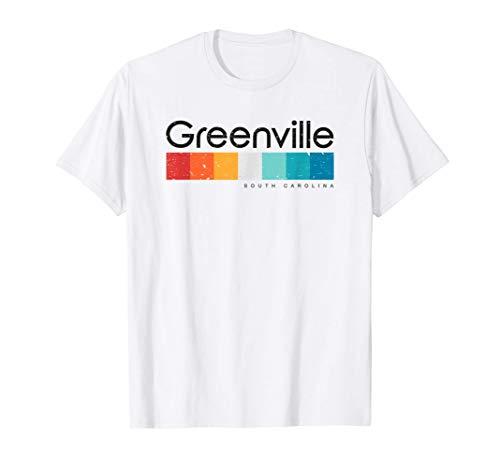 Vintage Greenville SC South Carolina USA Retro Design T-Shirt